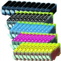 Compatible Canon BCI-3e / BCI-6 (50-pack) Ink Cartridges