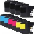 Compatible Brother LC203 XL (10-pack) Ink Cartridges