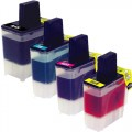 Compatible Brother LC41 (4-pack) Ink Cartridges