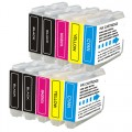 Compatible Brother LC51 (10-pack) Ink Cartridges