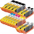 Compatible Canon PGI-250XL / CLI-251XL (14-pack) Ink Cartridges