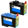 Replacement Dell Series 2 7Y743 / 7Y745 (2-pack) Ink Cartridges