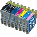 Remanufactured Epson 48 T048 (8-pack) Ink Cartridges