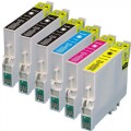 Remanufactured Epson 60 T060 (6-pack) Ink Cartridges