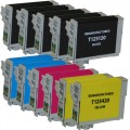 Remanufactured Epson 125 T125 (11-pack) Ink Cartridges