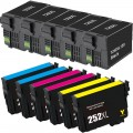 Remanufactured Epson 252XL T252XL (11-pack) HY Ink Cartridges