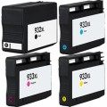 Replacement HP 932XL / 933XL (4-pack) HY Ink Cartridges