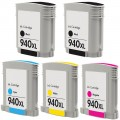 Replacement HP 940XL (5-pack) HY Ink Cartridges