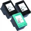 Replacement HP 92 / HP 93 (3-pack) Ink Cartridges