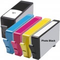 Replacement HP 564XL (5-pack) HY Ink Cartridges