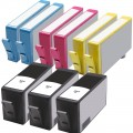 Replacement HP 564XL (9-pack) HY Ink Cartridges