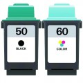Replacement Lexmark 50 / 60 (2-pack) Ink Cartridges