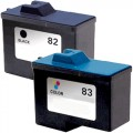 Replacement Lexmark 82 / 83 (2-pack) Ink Cartridges