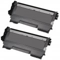 Compatible Brother TN450 (2-pack) HY Black Toner Cartridges