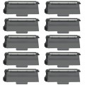 Compatible Brother TN750 (10-Pack) HY Black Toner Cartridges