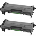 Compatible Brother TN880 (2-Pack) SHY Black Toner Cartridges