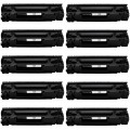 Replacement Canon 137 (10-pack) Black Toner Cartridges