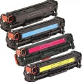 Replacement HP 304A / CC530-3A (4-pack) Toner Cartridges