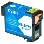 Remanufactured Epson 157 (T157220) Cyan Ink Cartridge - T1572