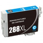 Remanufactured Epson 288XL T288XL220 High Yield Cyan Ink Cartridge - T288XL2