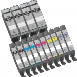 Canon PGI-280XXL / CLI-281XXL Compatible (14-pack) Super High Yield Ink Cartridges (4x Pigment Black, 2x Black, 2x Cyan, 2x Magenta, 2x Yellow, 2x Photo Blue)