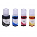 Epson 502 T502 Series (4-pack) Remanufactured Ink Bottles (1x Black, 1x Cyan, 1x Magenta, 1x Yellow)