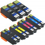 Epson 273XL T273XL Series (11-pack) Remanufactured High Yield Ink Cartridge (3x Black, 2x Photo Black, 2x Cyan, 2x Magenta, 2x Yellow)