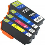 Epson 273XL T273XL Series (4-pack) Remanufactured High Yield Ink Cartridge (1x Black, 1x Cyan, 1x Magenta, 1x Yellow)