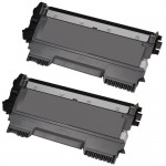 Brother TN450 (2-pack) Compatible High Yield Black Laser Toner Cartridges