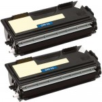 Brother TN460 (2-pack) Compatible High Yield Black Laser Toner Cartridges