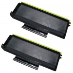 Brother TN580 (2-Pack) Compatible High Yield Black Laser Toner Cartridges
