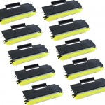 Brother TN650 (10-pack) Compatible High Yield Black Laser Toner Cartridges