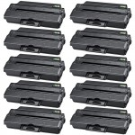 Compatible (10-pack) RWXNT / 331-7328 Black Toner Cartridges for Dell B1260