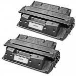 HP 27X / C4127X (2-pack) Replacement High Yield Black Laser Toner Cartridges