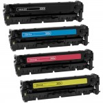 HP 305X / 305A (4-pack) Replacement Black Laser Toner Cartridges (1x Black, 1x Cyan, 1x Magenta, 1x Yellow)