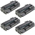 HP 80A / CF280A (4-pack) Replacement Black Laser Toner Cartridges