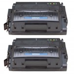 HP 42A / Q5942A (2-pack) Replacement Black Laser Toner Cartridges