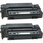 HP 51X / Q7551X (2-pack) Replacement High Yield Black Laser Toner Cartridges
