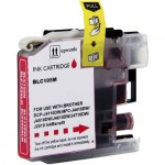 Brother LC105M Compatible Super High Yield Magenta Ink Cartridge (LC105 Series)