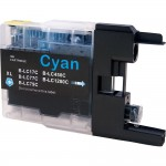 Brother LC79C Compatible Super High Yield Cyan Ink Cartridge (LC79 Series)