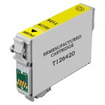 Remanufactured Epson 126 (T126420) High Yield Yellow Ink Cartridge - T1264