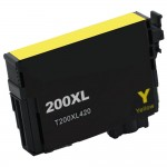 Remanufactured Epson 200XL (T200XL420) High Yield Yellow Ink Cartridge - T200XL4