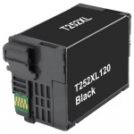 Remanufactured Epson 252XL (T252XL120) High Yield Black Ink Cartridge - T252XL1