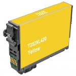 Remanufactured Epson 252XL (T252XL420) High Yield Yellow Ink Cartridge - T252XL4