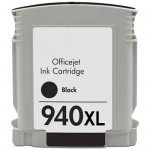 HP 940XL / C4906AN Replacement High Yield Black Ink Cartridge