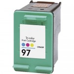 HP 97 / C9363WN Replacement Tri-Color Ink Cartridge
