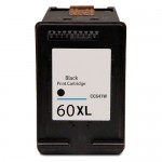 HP 60XL / CC641WN Replacement High Yield Black Ink Cartridge