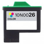 Lexmark #26 / 10N0026 Replacement Color Ink Cartridge