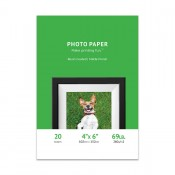 Premium Matte Photo Paper, 4 x 6, 20 Sheet Pack, 260g, Resin Coated