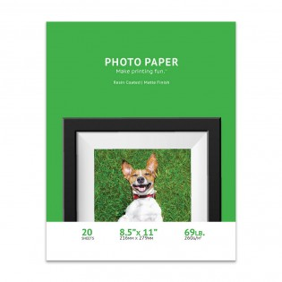 8.5 x 11 Matte Inkjet Photo Paper